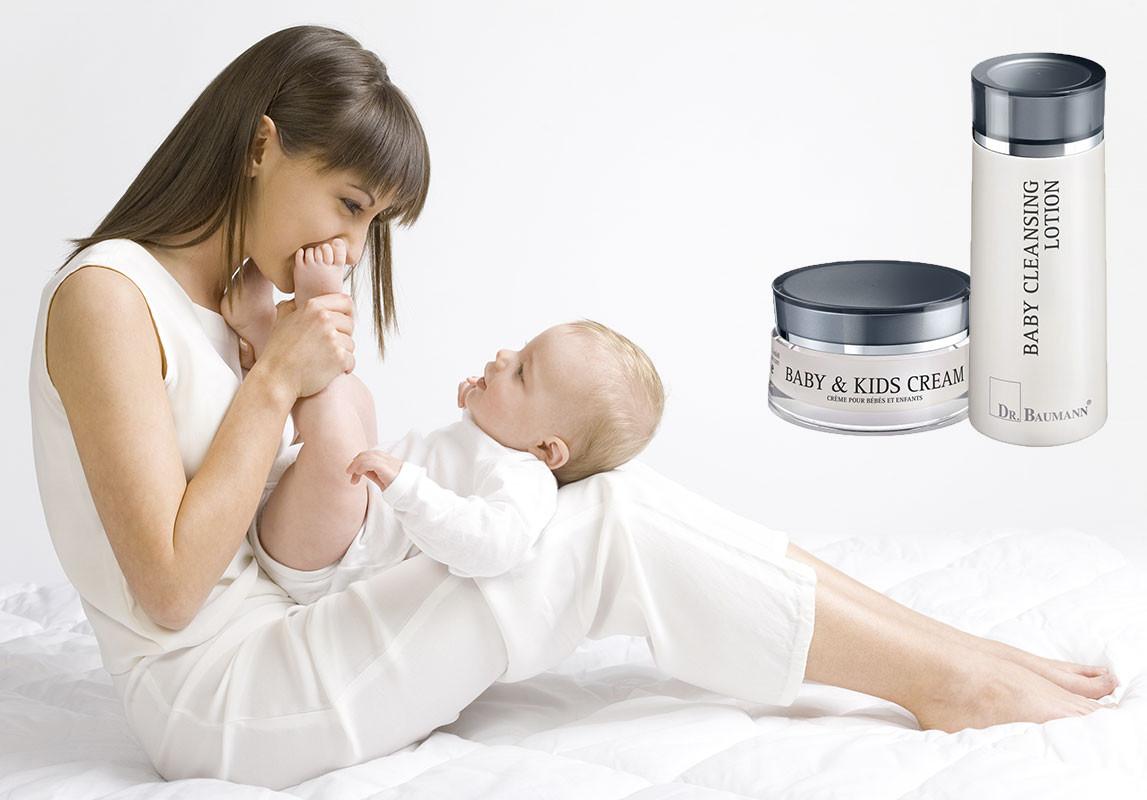 Zdravá jemná péče o pokožku miminka
