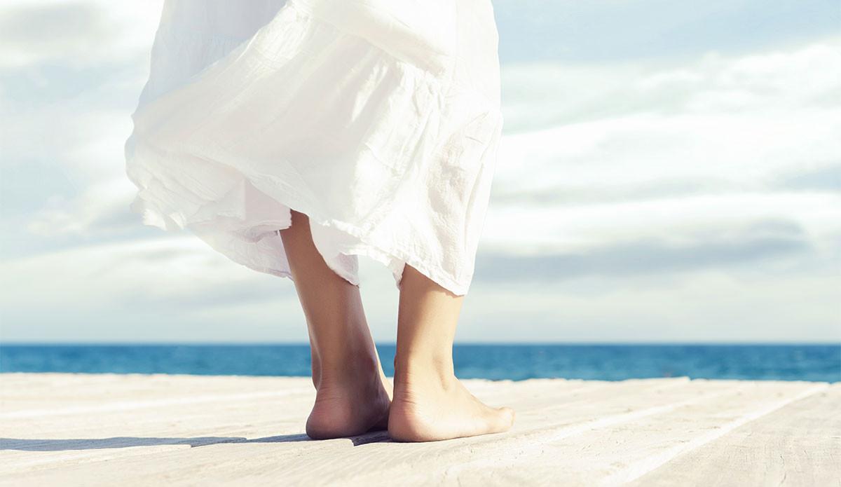 Zasloužená dovolená pro vaše nohy
