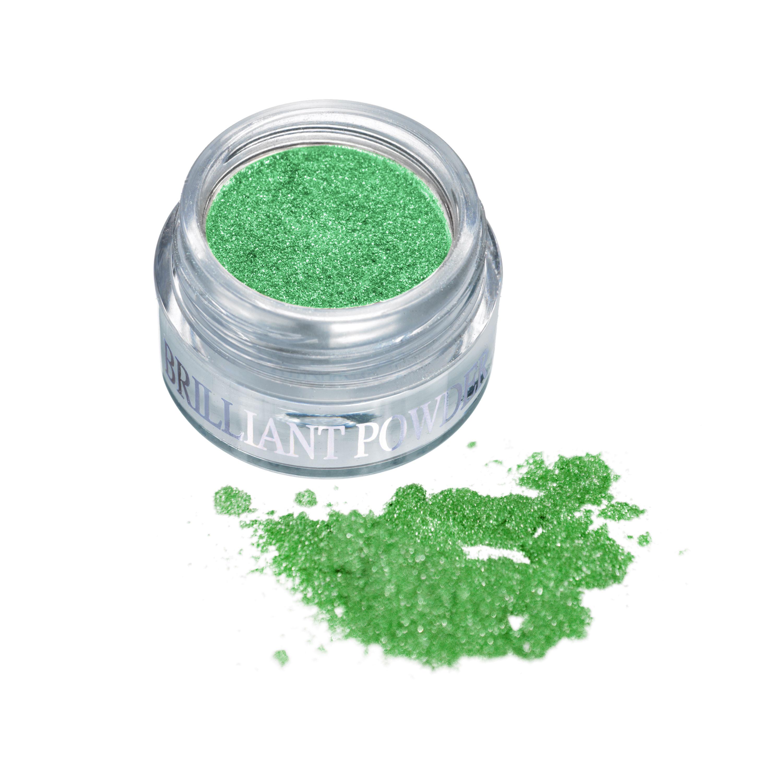 BRILANTNÍ PUDR green